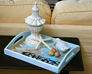 decoupage-tray pinterest
