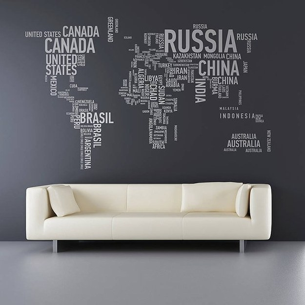 Living room decor malaysia map