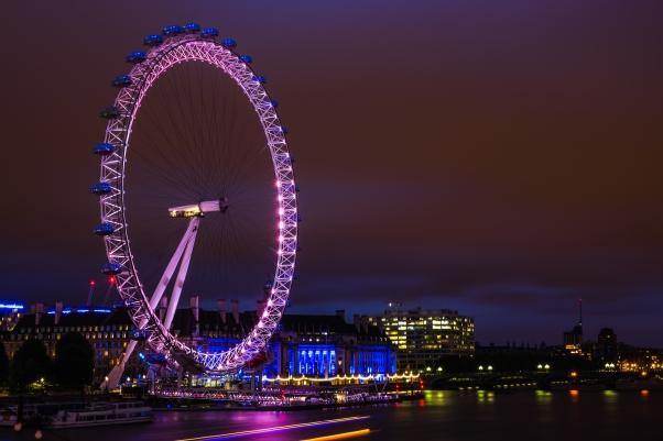 London Eye Pedistrian bridge