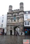 Canterbury cathedral entrance