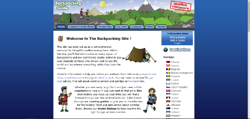 Backpackingsite