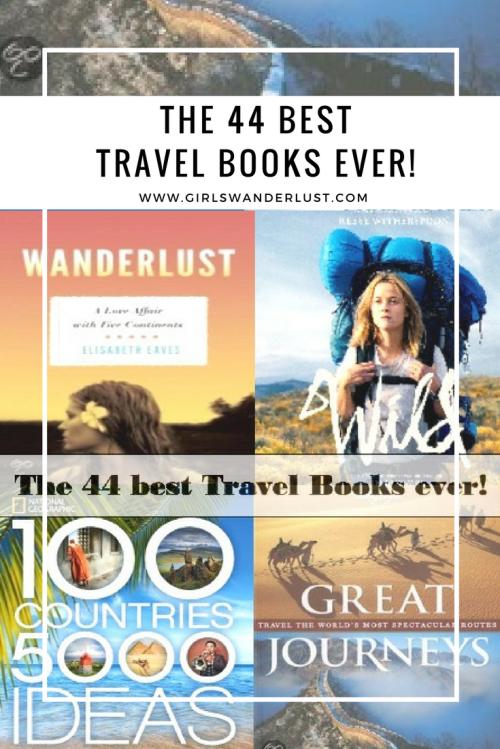 The 44 best travel books ever! #girlswanderlust #wanderlust #travel #traveling #travelling #travel #travelblog #travelinspiration #inspiration #reizen #travelbooks #books.png