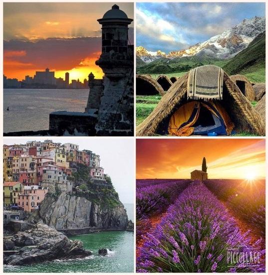 Collage Travelandleisure
