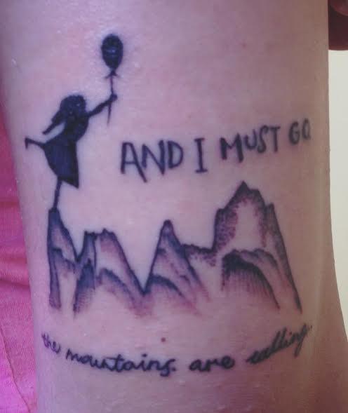 Travel tatoo - Alaska, My dot on the Map