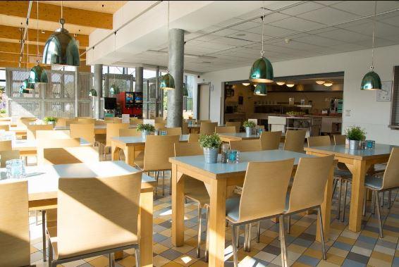 Hostel review Stayokay Texel, the Netherlands. Restaurant.JPG