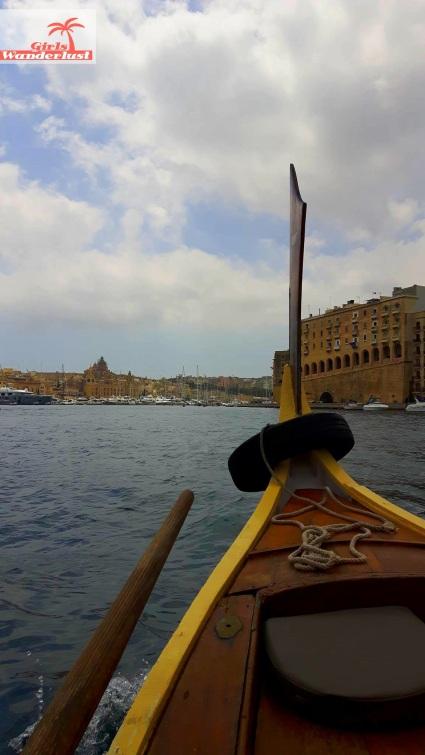 Local dgħajsa  - Cityguide Valletta, Malta by Girlswanderlust.jpg
