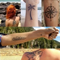 100 Amazing- and inspirational travel tattoos!