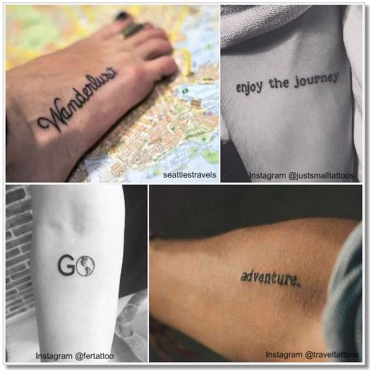 13 Gorgeous Tattoos That Celebrate Travel: 100 Amazing- And Inspirational Travel Tattoos