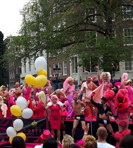 Big ass parade in amsterdam