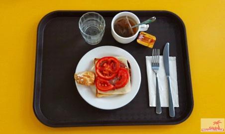 Hostel review NSTS Hibernia Residence & Hostel Malta. Breakfast. By @girlswanderlust #Malta