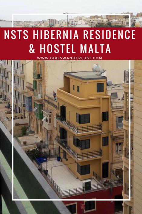 Hostel review- NSTS Hibernia Residence & Hostel Malta by @girlswanderlust. #Malta #Sliema #hostel #review #city #Maltese
