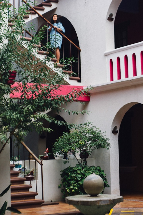 Hotel -  - Travel tips for exploring Oaxaca city in Mexico @girlswanderlust #mexico #oaxaca #girlswanderlust #travel.jpg