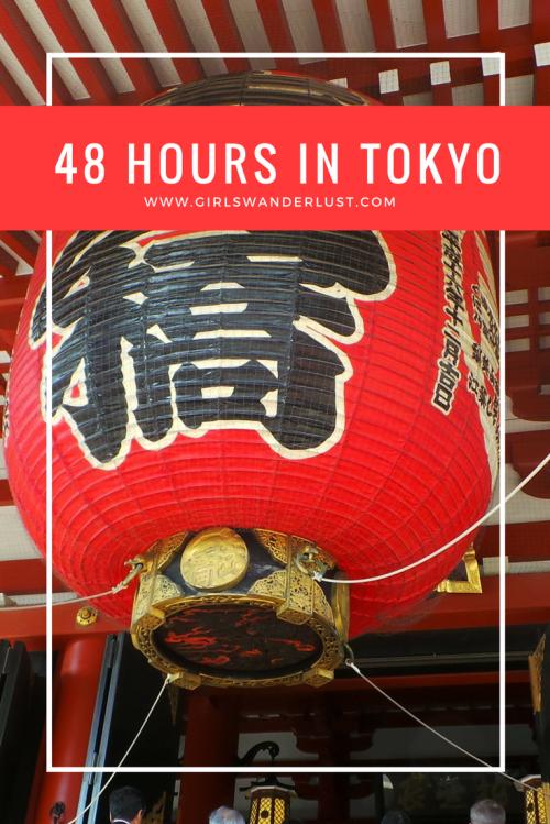 48 hours in Tokyo
