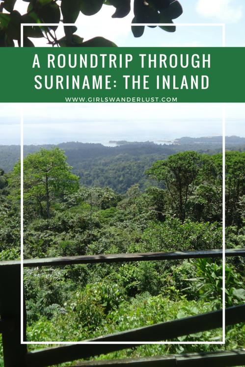 A roundtrip through Suriname- the inland