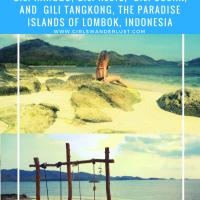 Gili Nanggu, Gili Tangkong, Gili Kedis and Gili Sudak – The paradise islands of Lombok