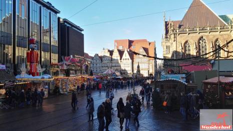 Christmas market of Bremen