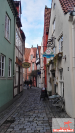Small streets of Bremen