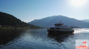 The ferry boat from Flam to Balestrand