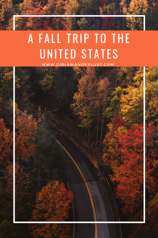 A fall trip to the United States