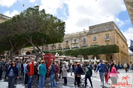 City center of Valletta