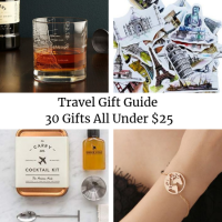 Travel Gift Guide for the Adventurous Traveler – 30 Gifts All Under $25
